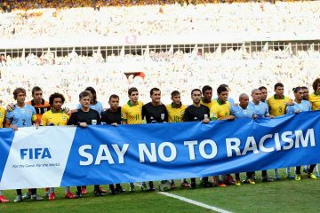 FIFA say no to racism
